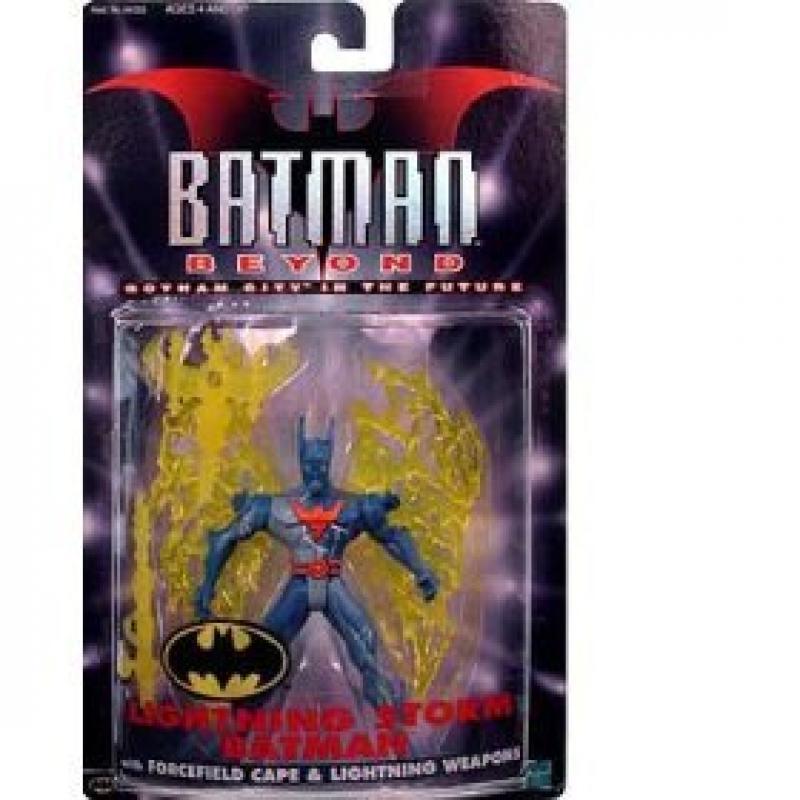 Batman Beyond Lightning Storm Batman by