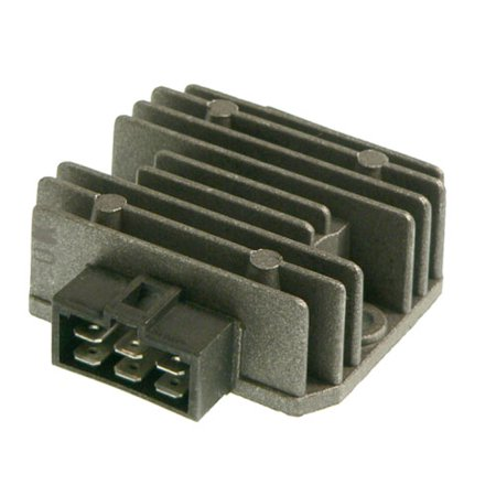 db electrical aki6017 new voltage regulator for klf220 klf250 bayou kawasaki kl600 kl650 klr650 zn1300 zr550 voyager zephyr zx550 gpz zx750 klr650 1985-2011  (Best Exhaust For Klr650)