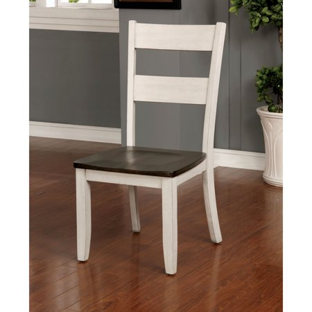 Furniture of America Relia Transitional 18.5-inch Grey Side Chair (Set of 2) by FOA