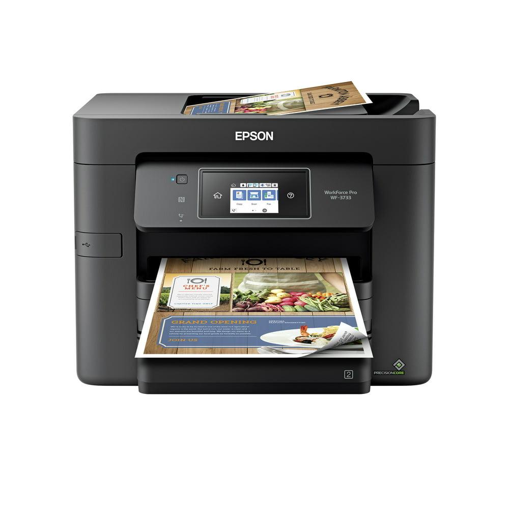 Epson WorkForce Pro WF-3733 Wireless All-in-One Color Inkjet Printer