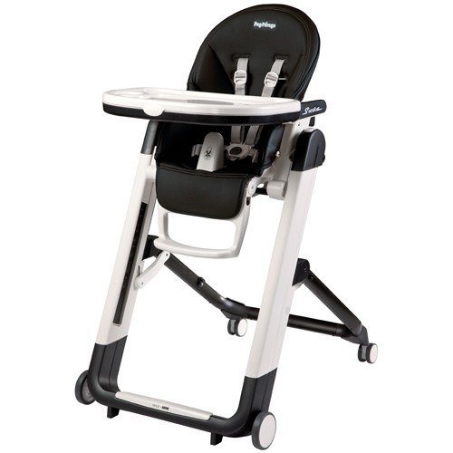 Siesta High Chair - Licorice - Black