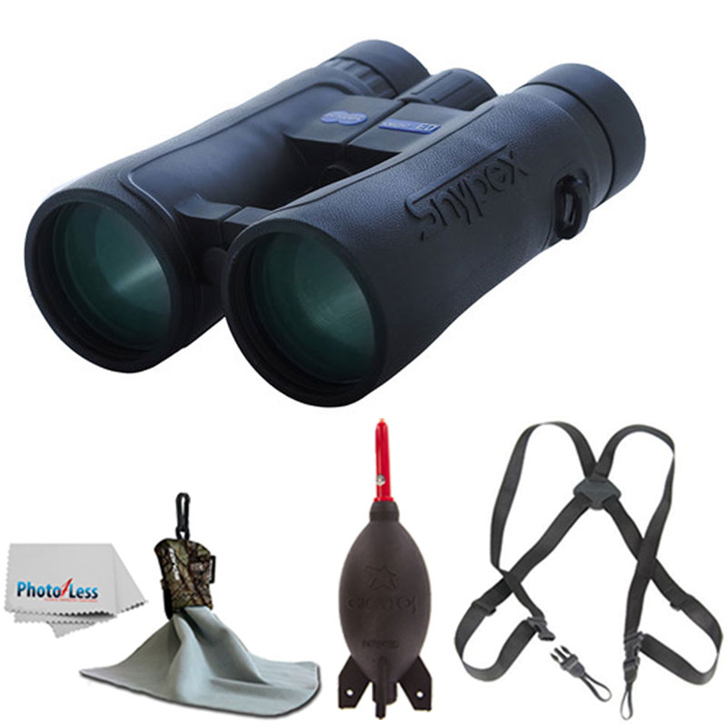 SNYPEX KNIGHT ED Water Proof Roof Prism Binocular With Case + Harness + Rocket Air Dust Blaster + Microfiber... by SNYPEX