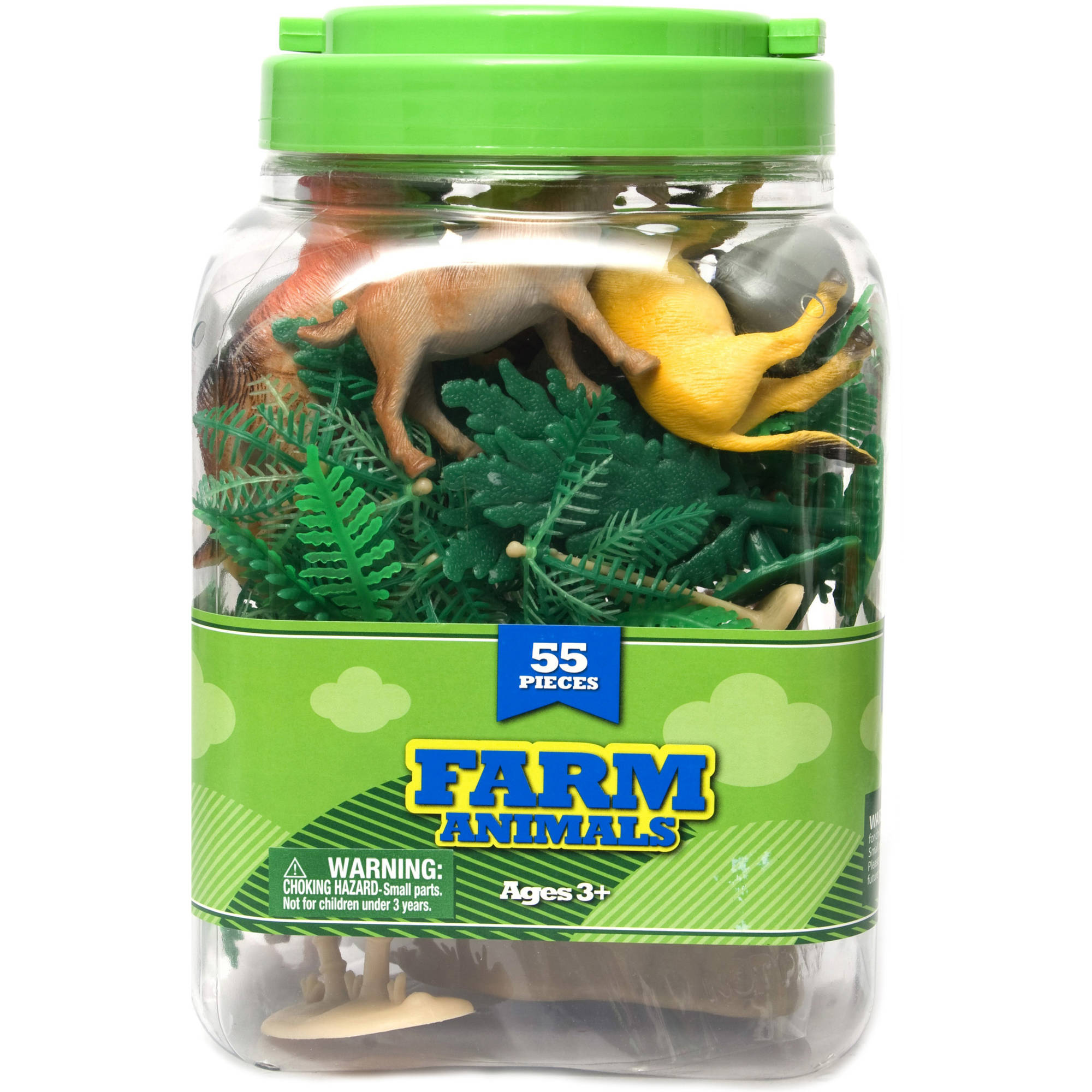 Farm Animals Bucket Set, 55pc