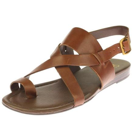 d0bcfb15241 Franco Sarto - Franco Sarto Womens Gia Solid Toe Loop Slingback Sandals -  Walmart.com