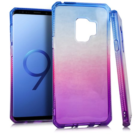 MUNDAZE Purple Pink Ombre Deluxe TPU Flexible Case For Samsung Galaxy S9 Phone