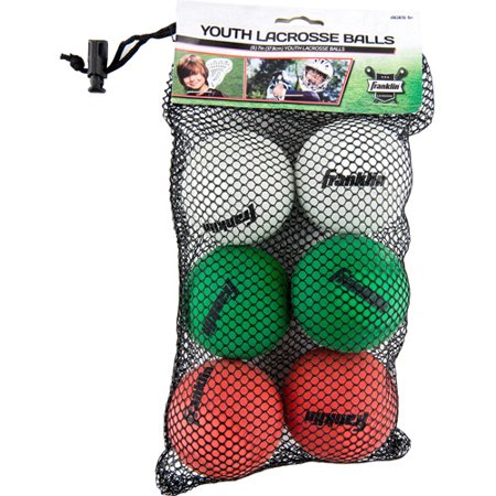 Franklin Sports Youth Lacrosse Balls, 6-Pack