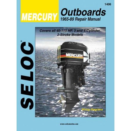 Selocs Mercury Outboard  1965 89 Repair Manual 3  And 4 Cylinder