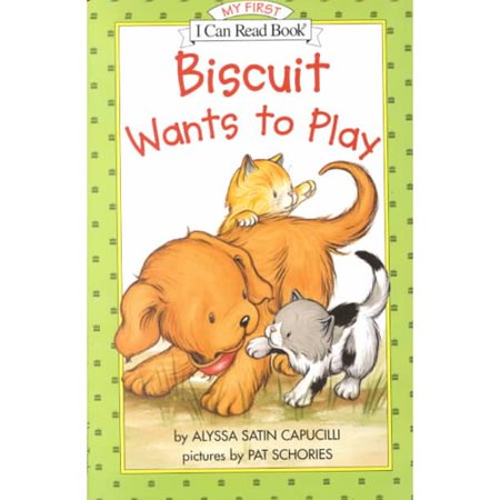 Image of Biscuit Wants to Play (My First I Can Read)