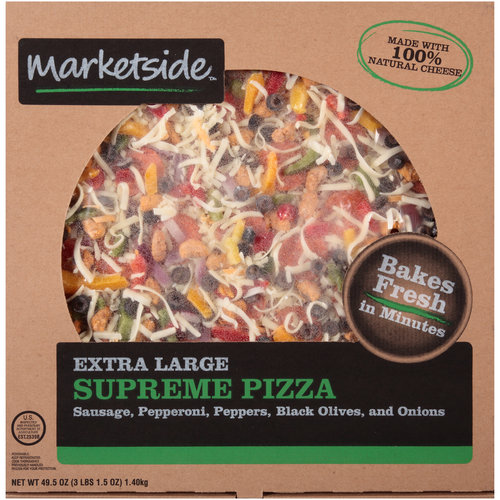 Marketside Extra Large Supreme Pizza, 49.5 oz
