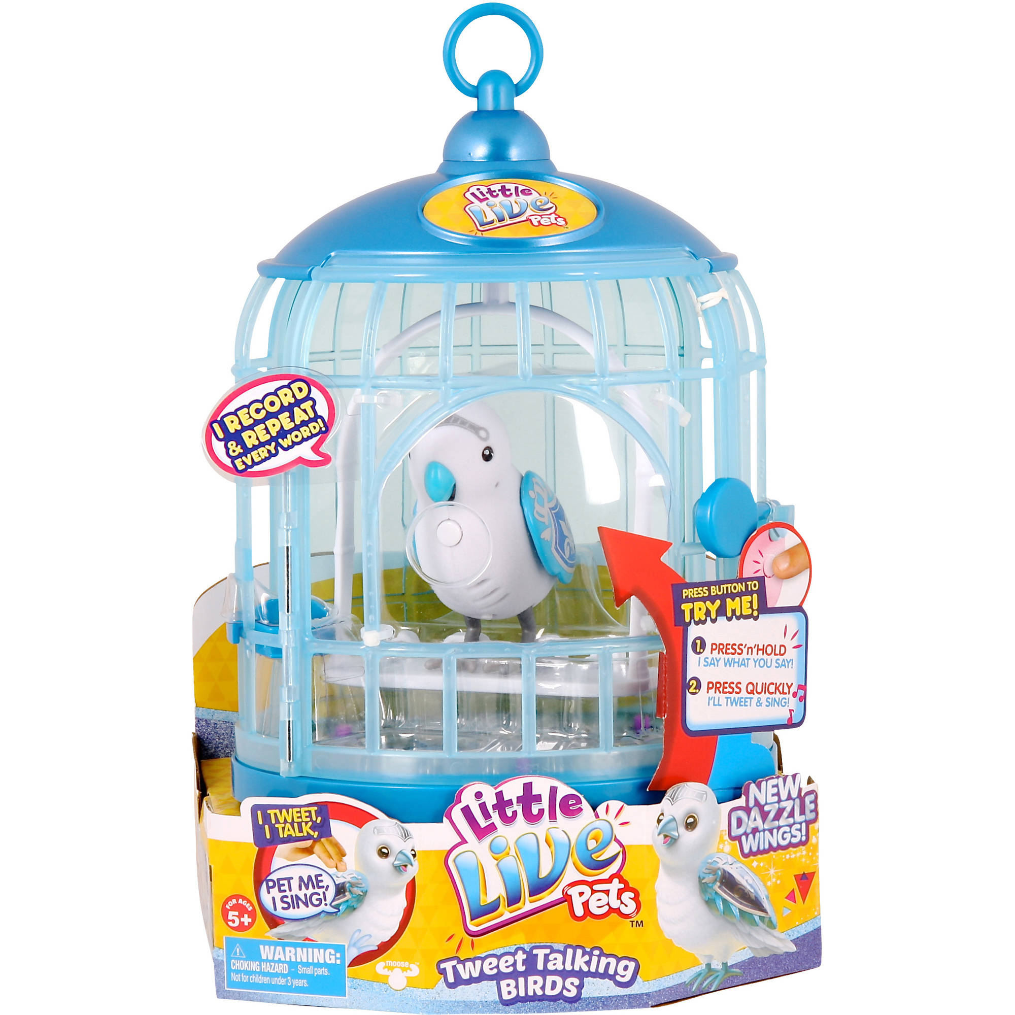 Little Live Pets S4 Bird with Cage