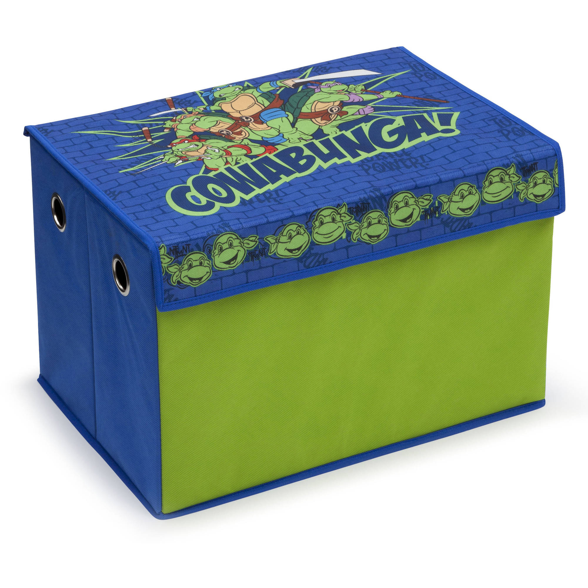 Nickelodeon Teenage Mutant Ninja Turtles Fabric Toy Box