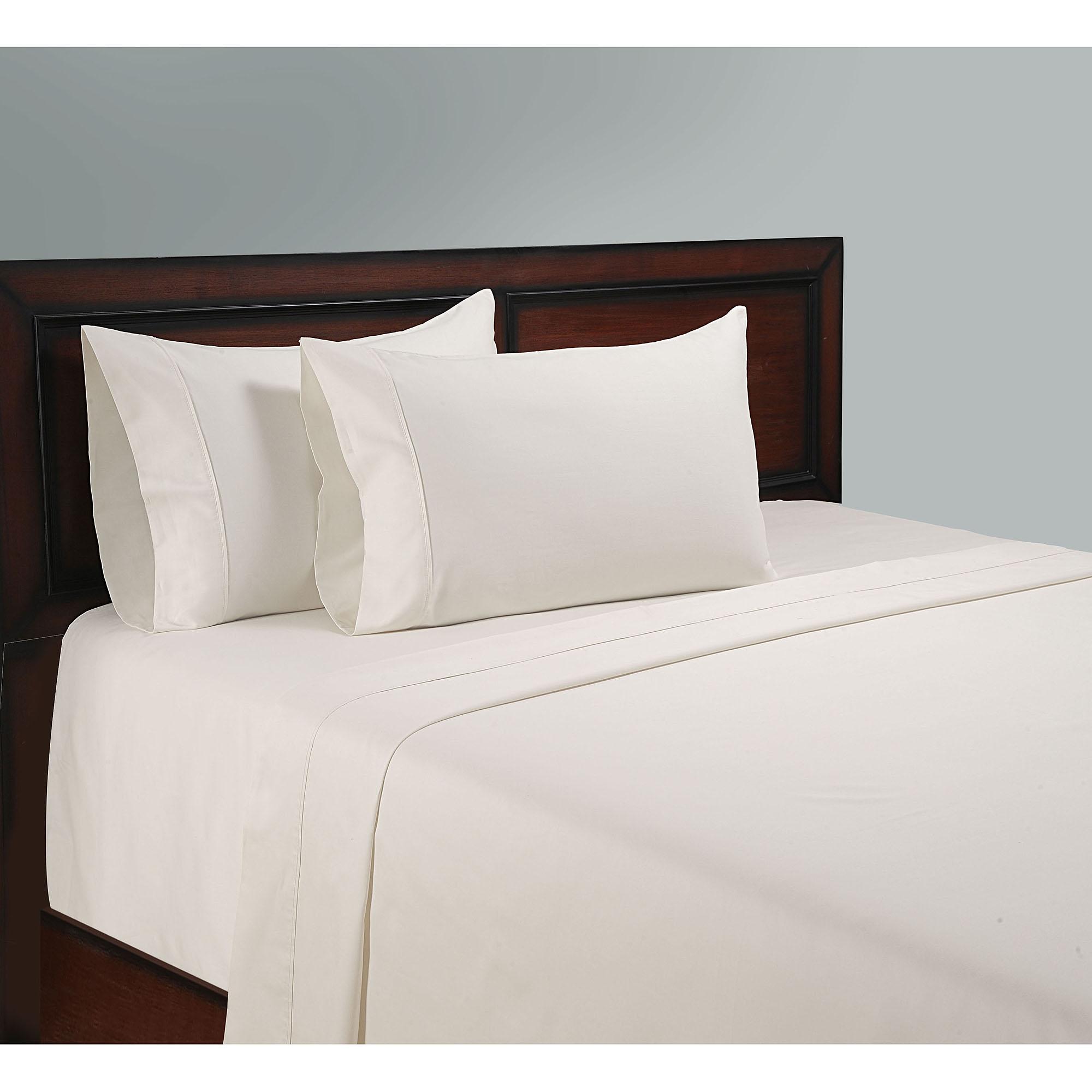 color sense 100 percent cotton sheet set walmartcom