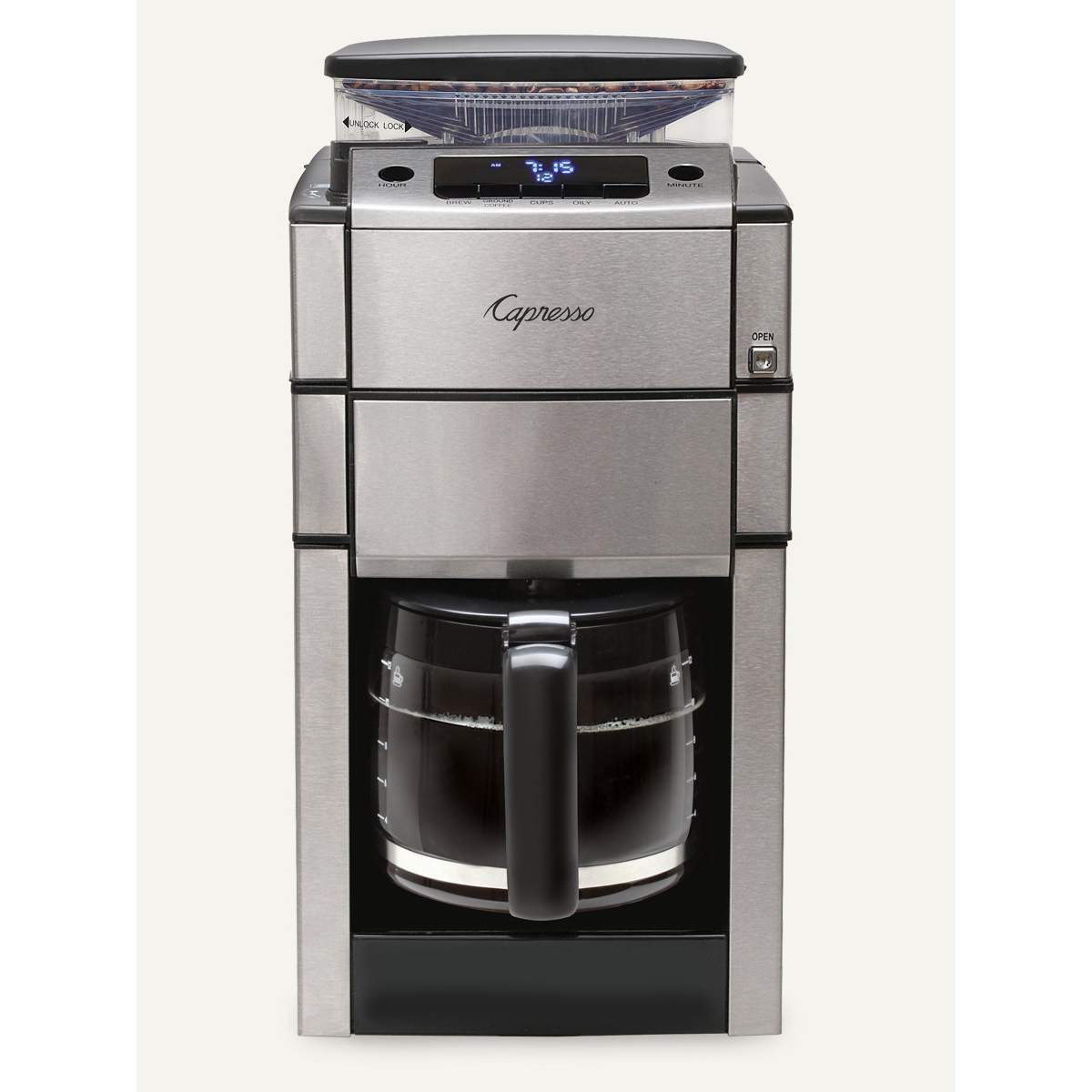 capresso coffeeteam pro plus with thermal carafe coffee maker - Thermal Carafe
