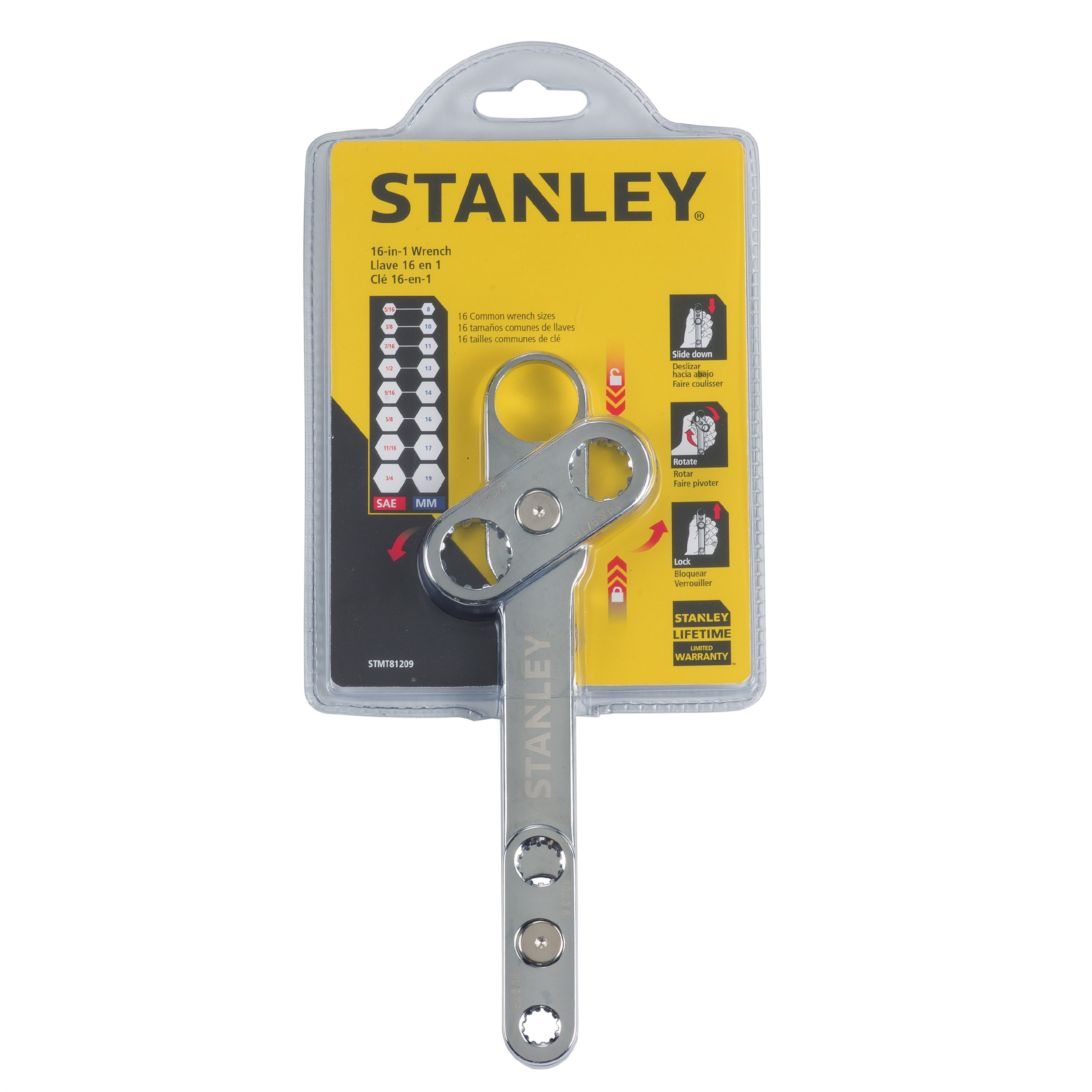 STANLEY STMT81209 16-N-1 Wrench