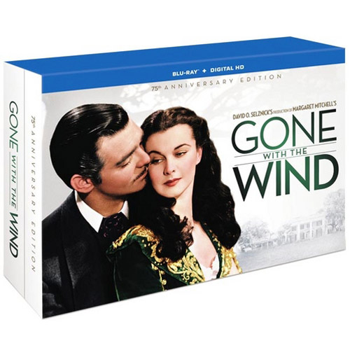 Gone With The Wind: 75th Anniversary Ultimate Collector's Edition (Blu-ray + DVD + Digital HD With UltraViolet) (Full Frame)