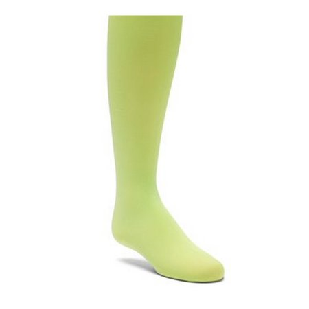 Stretch Soft Footbed - Wenchoice Little Girls Green Solid Color Stretchy Soft Footed Tights
