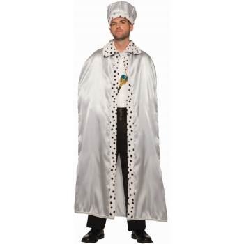 Silver Adult King Crown Halloween Costume Accessory - Costume King Crown