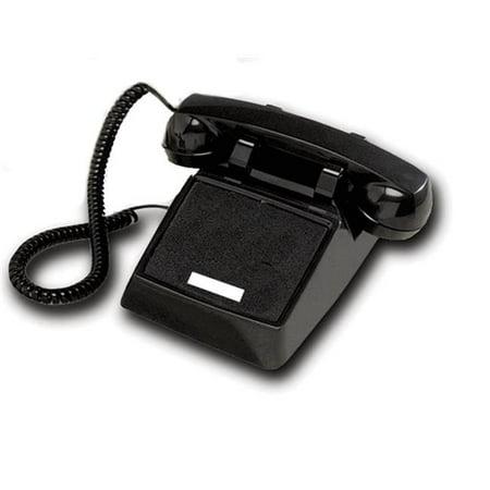 Cortelco 250000-VBA-NDL Standard Desk Telephone With No Dial - Black - image 1 de 1