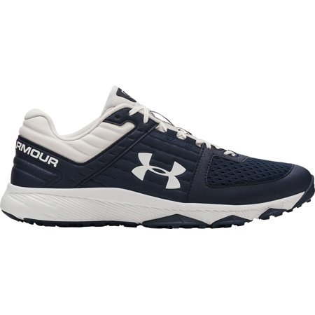 Under Armour Men's Yard Baseball Turf Shoes, Navy/White, Medium