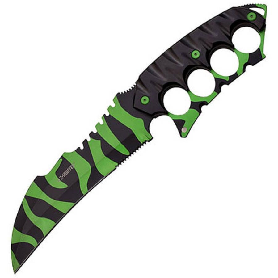 "Z-Hunter Fixed-Blade Knife, 7.5"" Zombie Blade"