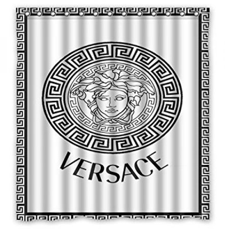 Popcases Supplier Flawless Creative Gorgeous Retro Versace Shower Curtain 100 Waterproof Polyester Fabric 66