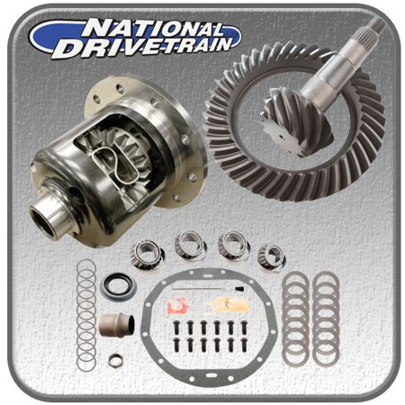RING AND PINION, BEARING INSTALL KIT & NEW POSI - GM 12 BOLT CAR - 3.73 RATIO