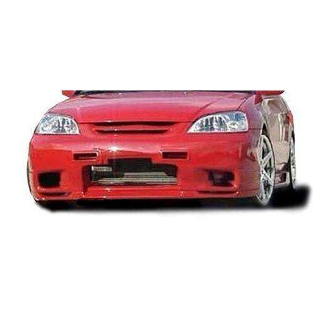 Honda Civic ALL 2001-2003 SL Spec Style 1 Piece Polyurethane Front (Honda Polyurethane Civic Bumper)