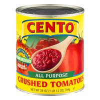 (4 Pack) Cento All Purpose Crushed Tomatoes, 28 Oz