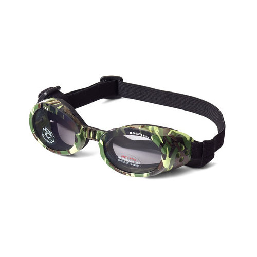 Doggles - ILS Green Camo Frame with Light Smoke Lens - Small