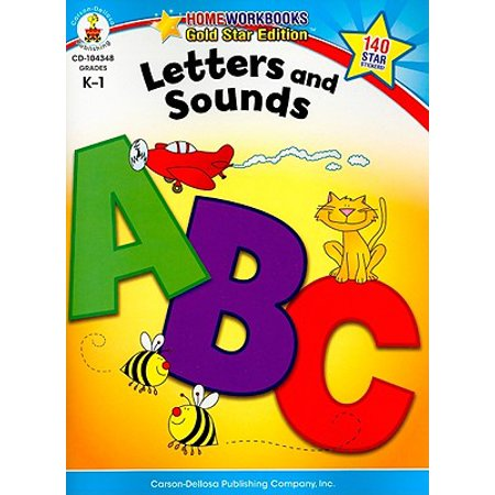 Letters and Sounds, Grades K - 1 : Gold Star Edition - Halloween Beginning Letter Sounds