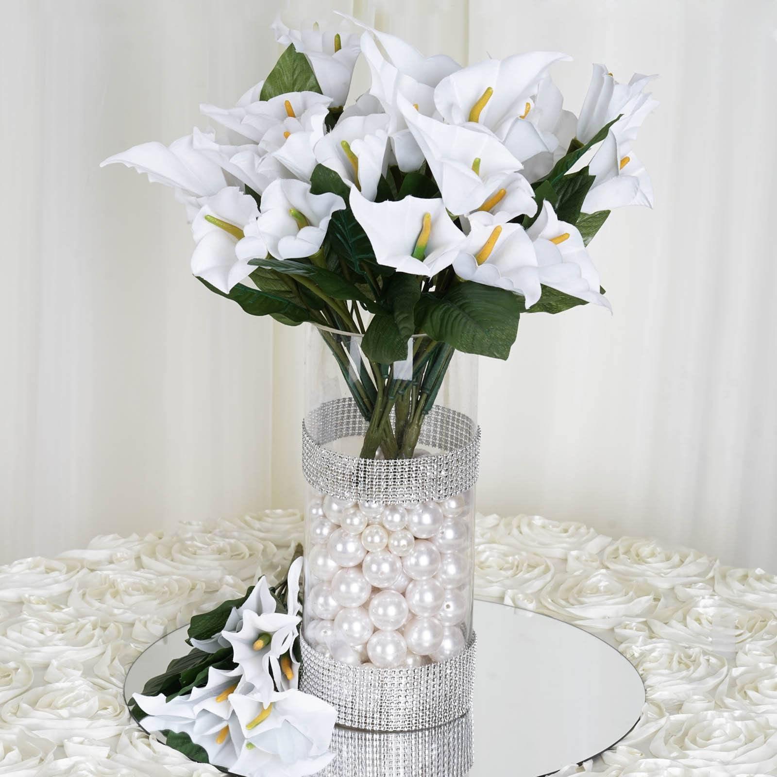Efavormart 84 Artificial Calla Lily Flowers For Diy Wedding
