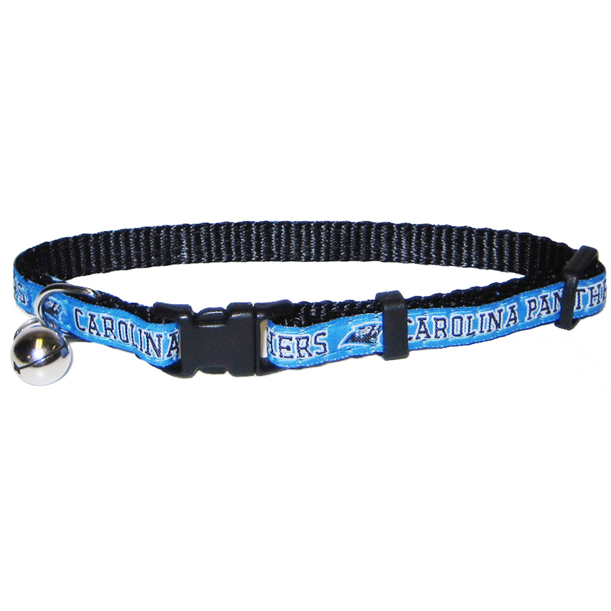 Pets First NFL Carolina Panthers Cat Collar