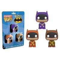 Batman - Brown, Purple & Orange Pocket Pop! 3 Pack