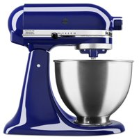 KitchenAid Deluxe 4.5 Quart Tilt-Head Cobalt Blue Stand Mixer