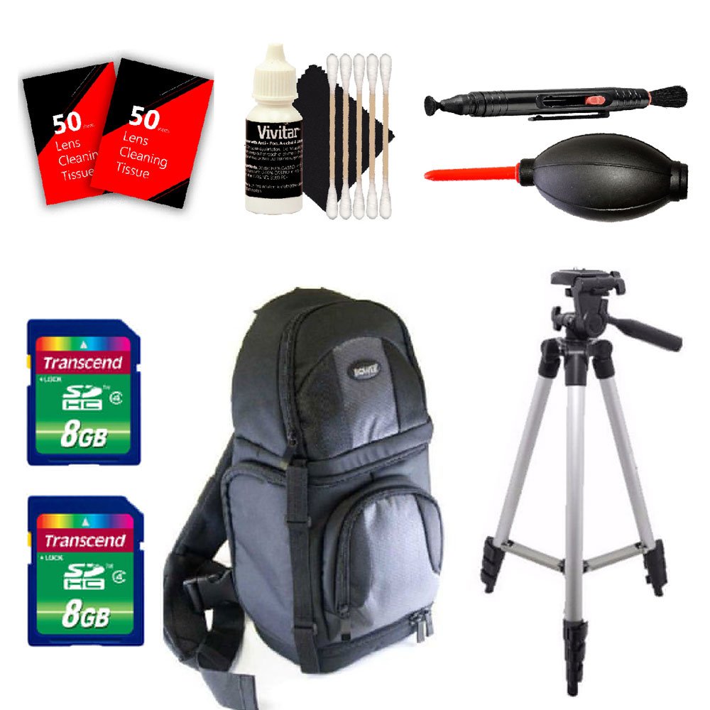Tall Tripod, BackPack, Memory Cards and More Nikon D3300 D3400 D5300 D5500 and All Nikon Digital SLR Cameras