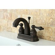Kingston Brass Modern Oil Rubbed Bronze Metal Faucet Towel Rack - Bathroom faucet and accessories set