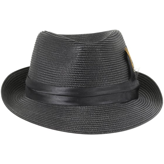 e13826e073f Stacy Adams Men s Teardrop Homburg Hat - Walmart.com