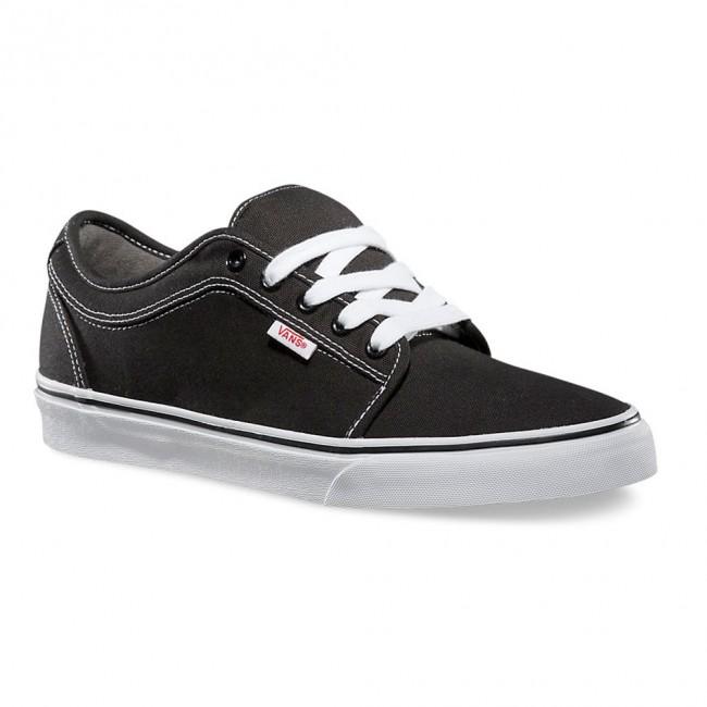 Vans Chukka Low Black/White Men's Classic Skate Shoes Siz...