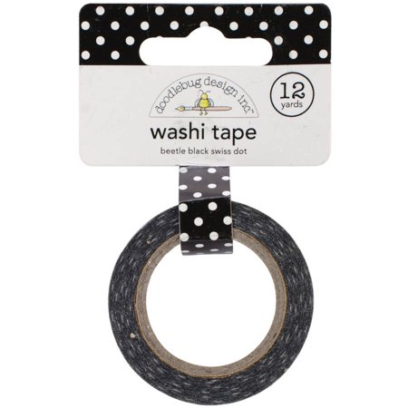 Washi Tape, 15mm, 12 yds/Roll