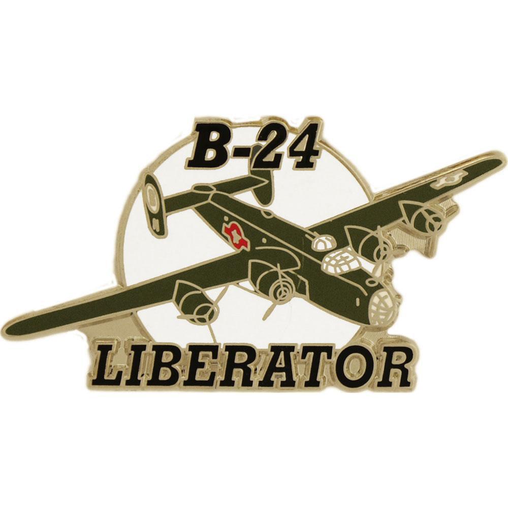 B-24 Liberator Airplane Pin 1 1/2