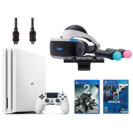 Playstation Vr Launch Bundle 3 Items Vr Launch Bundle Playstation 4 Pro 1Tb Destiny 2 Bundle Vr Game Disc Psvr Driveclub
