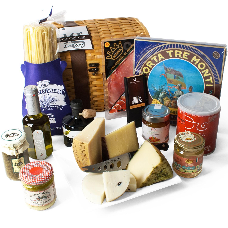 igourmet  Italian Treasures Chest Gift Basket