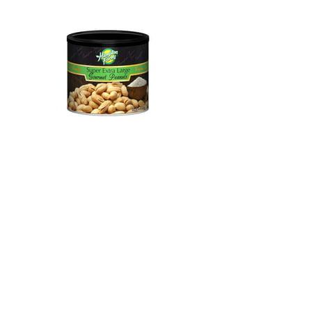 Hampton Farms Super Extra Large Virginia Peanuts 40 oz x 2 Cans! ()