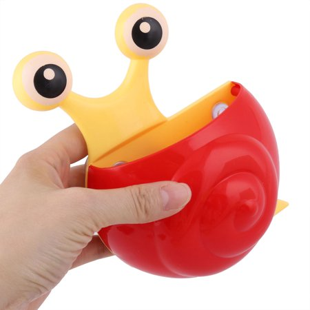 Bathroom Plastic Snail Shaped Suction Cup Toothbrush Toothpaste Holder Organizer - image 3 de 4