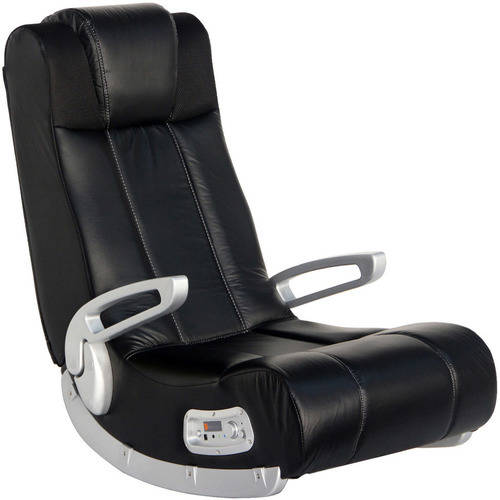 Great X Rocker II SE 2.1 Wireless Sound Video Gaming Chair, Black, 51273
