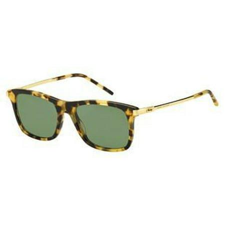 Marc Jacobs Marc 139/S 0LSH Spotted Havana DJ green lens Sunglasses