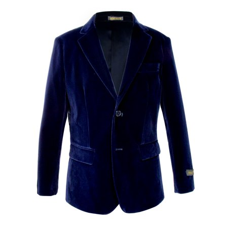 Spring Notion Big Boy's Velvet - Velvet Blazer For Boys