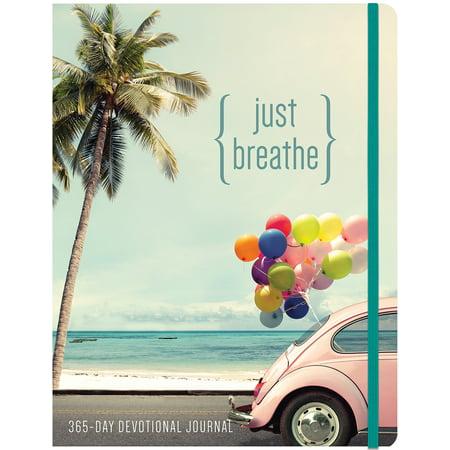 Just Breathe : A 365 Devotional Journal (Gods Promises Devotional Journal)