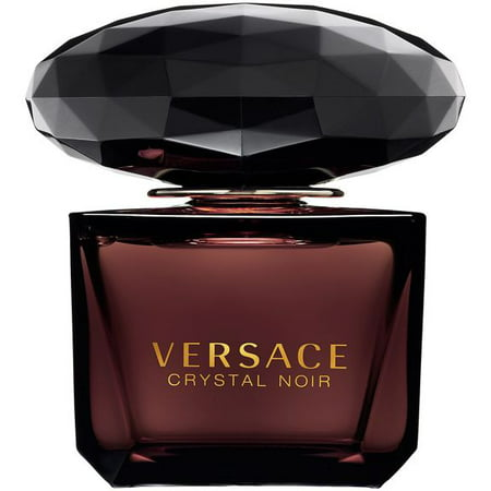 Versace Crystal Noir Eau de Toilette Perfume for Women, 3 Oz Full Size