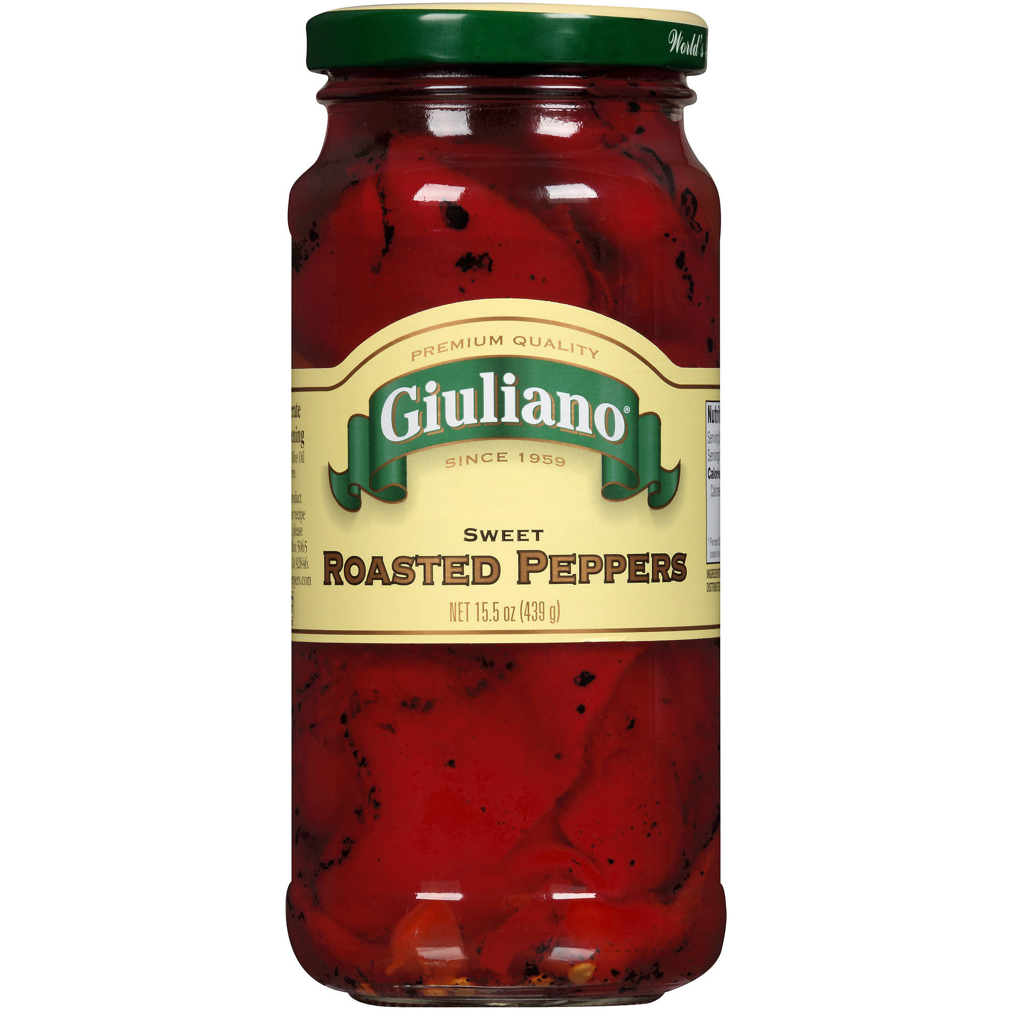 Giuliano Sweet Roasted Peppers, 15.5 oz